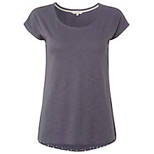 Buy White Stuff Patricia Spot Back T-Shirt, Moonlight Online at johnlewis.com