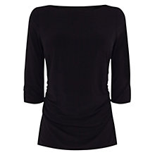 Buy Coast Montpellier Top, Black Online at johnlewis.com