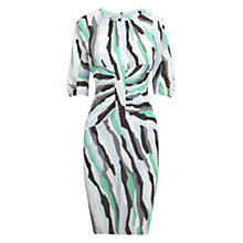 Buy Whistles Bella Ikat Print Bodycon Dress, Multi Online at johnlewis.com