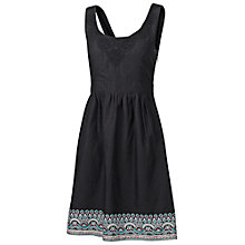 Buy Fat Face Isfield Border Dress, Phantom Online at johnlewis.com