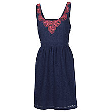 Buy Fat Face Isfield Lace Dress Online at johnlewis.com