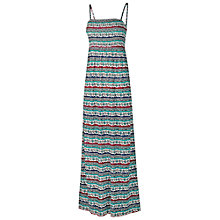 Buy Fat Face Carrick Maxi Dress, Ivory Online at johnlewis.com