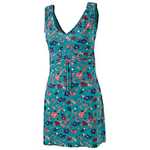 Buy Fat Face Elmbridge Peony Tunic Dress, Laurel Green Online at johnlewis.com