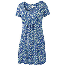 Buy Fat Face Bridlington Ivy Floral Tunic, Chambray Online at johnlewis.com