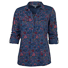 Buy Fat Face Brokenhurst Peony Shirt, Navy Online at johnlewis.com