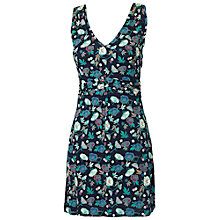 Buy Fat Face Elmbridge Peony Tunic Dress, Navy Online at johnlewis.com