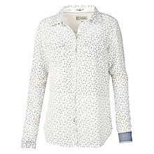 Buy Fat Face Petal Fan Shirt, Ivory Online at johnlewis.com