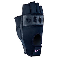 Buy Nike Pro Flow Women's Gloves, Black Online at johnlewis.com