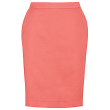 Buy Havren Solid Pencil Skirt, Clementine Online at johnlewis.com