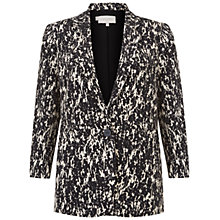 Buy Hobbs Water Print Jacket, Black Stone Online at johnlewis.com