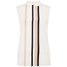 Buy Hobbs Stripe Shelby Top, Ivory Multi Online at johnlewis.com