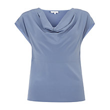 Buy Hobbs Leila Top, Delphinium Blue Online at johnlewis.com