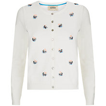 Buy Havren Embellished Cardigan, Ivory Online at johnlewis.com
