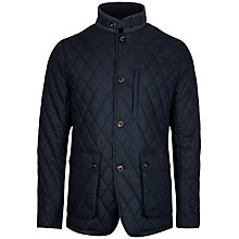 Buy Ted Baker Garyen Quilted Jacket, Navy Online at johnlewis.com