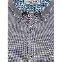 Buy Ted Baker Spotyou Printed Spot Shirt Online at johnlewis.com