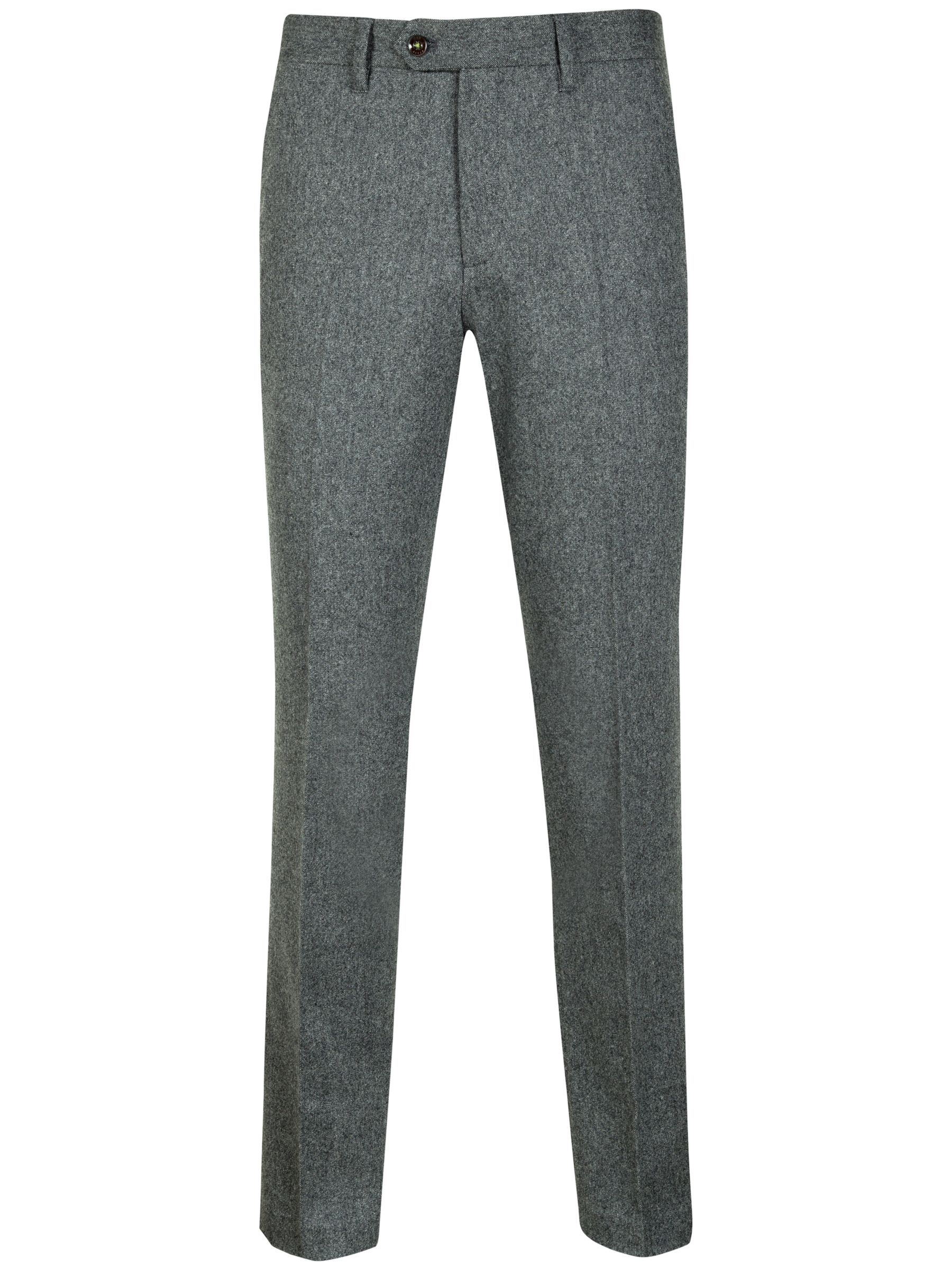 Ted Baker Fortero Wool Trousers, Grey