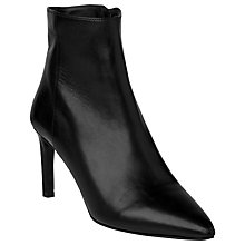 Buy L.K. Bennett Rosa Leather High Heeled Ankle Boots Online at johnlewis.com