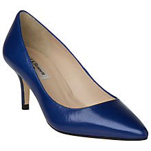 Buy L.K. Bennett Florisa Leather Court Shoes Online at johnlewis.com