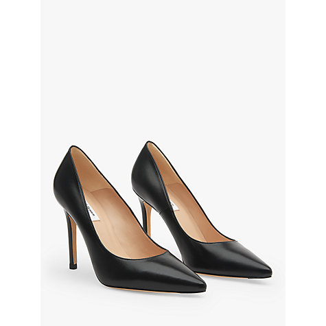 Buy L.K. Bennett Fern Point Toe Leather Court Shoes Online at johnlewis.com