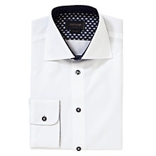 Buy Duchamp Melody Contrast Shirt, White Online at johnlewis.com