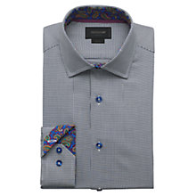Buy Duchamp Country Paisley Contrast Long Sleeve Shirt, Grey Online at johnlewis.com