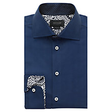 Buy Duchamp Legacy Contrast Shirt, Dark Blue Online at johnlewis.com