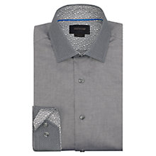 Buy Duchamp Graphite Contrast Shirt, Grey Online at johnlewis.com