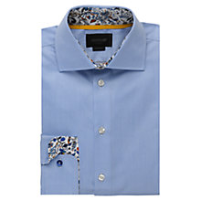 Buy Duchamp Whimsy Contrast Shirt, Pale Blue Online at johnlewis.com