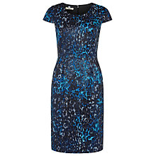 Buy Precis Petite Animal Shimmer Dress, Multi Dark Online at johnlewis.com
