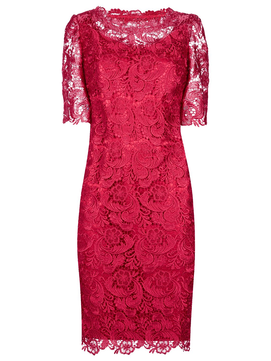 jacques vert luxury lace tunic dress scarlet, jacques, vert, luxury, lace, tunic, dress, scarlet, jacques vert, clearance, womenswear offers, womens dresses offers, special offers, women, plus size, womens dresses, 1585236