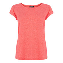 Buy Warehouse Nep Yarn Boyfriend T-Shirt Online at johnlewis.com