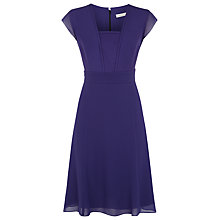 Buy Kaliko Flared Pleated Waist Dress Online at johnlewis.com