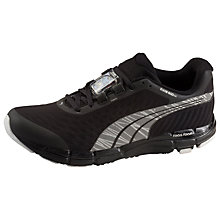 Buy Puma FAAS 600 Nightcat Women's Running Shoes, Black Online at johnlewis.com