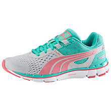 Buy Puma Faas 500 Women's Running Shoes, Grey/Green/Pink Online at johnlewis.com