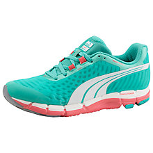Buy Puma Faas 600 V2 Women's Running Shoes, Pool Green/Dubarry Online at johnlewis.com