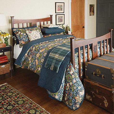 Buy Morris Amp Co Strawberry Thief Cotton Bedding John Lewis