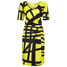 Buy Planet Graphic Print Dress, Multi Dark Online at johnlewis.com