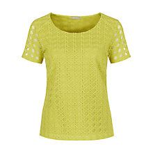 Buy Planet Geo Lace Top Online at johnlewis.com