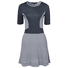 Buy French Connection Mini Modern Mosaic Dress, White/Multi Online at johnlewis.com