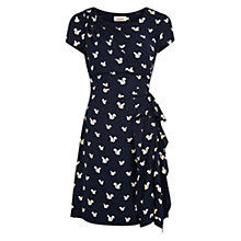 Buy Louche Kayven Squirrel Dress, Navy Online at johnlewis.com