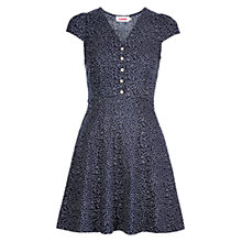 Buy Louche Cathleen Ditsy Dress, Navy Online at johnlewis.com