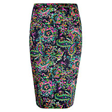 Buy Louche Paisley Skirt, Multi Online at johnlewis.com