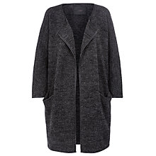 Buy Minimum Afina Knitted Coatigan, Dark Grey Online at johnlewis.com
