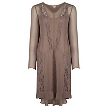 Buy Ghost Sameera Dress, Fawn Online at johnlewis.com
