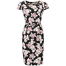 Buy People Tree Bella Rose Print Dress, Pink Online at johnlewis.com