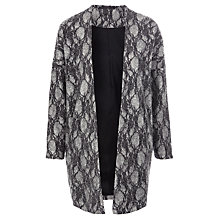 Buy Minimum Resina Lace Cardigan, Silver Online at johnlewis.com