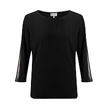 Buy Ghost Haley Top, Black Online at johnlewis.com