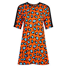 Buy Louche Hart Dress, Orange Online at johnlewis.com
