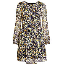Buy Ghost Bridget Dress, Animal Print Online at johnlewis.com