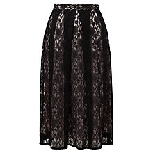Buy Ghost Eliana Skirt, Black Online at johnlewis.com